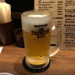 岩国縁家 - ビールお代わり