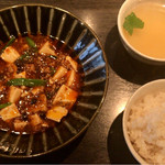 酒廊 而空 - 本場四川の麻婆豆腐 ¥1,000
