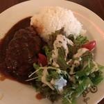 Cafe BOHEMIA - 煮込みハンバーグ