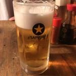 きど藤 - 生ビール