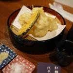 かき屋浅草だいまさ - 鱧の天ぷら どすえ