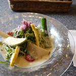フェルム・ソレイユ - ランチの野菜サラダ