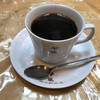 秋山珈琲店 - ドリンク写真:ホットコーヒー400円(税込)