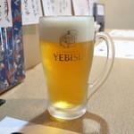 よし春 - 生ビール