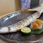 よし春 - 秋刀魚塩焼き