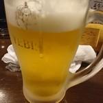 酔来処 - ドリンクはビールをチョイス