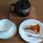 五島軒 - コーヒーを用意して…