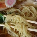 キッチンひばり - ラーメン500円 麺アップ