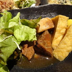 旬野菜と魚 琉球ダイニング ま・じゅん - ラフテー