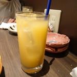 旬野菜と魚 琉球ダイニング ま・じゅん - グレープフルーツジュース