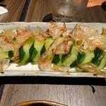 旬野菜と魚 琉球ダイニング ま・じゅん - きゅうり