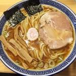 魂の中華そば - 料理写真:中華そば 麺少な目