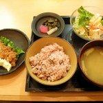 一汁五穀 秋田店 - チキン南蛮ランチ