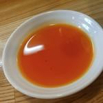 麺や 一想 - 辣油