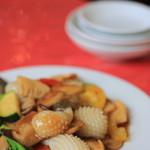 萬里 - 烏賊となんかの炒め物