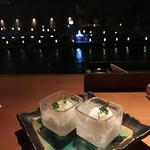ブルー - 【お口直し】台湾ライチのソルべで爽やかに