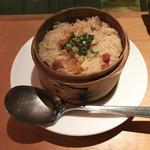 ブルー - 【ご飯】松茸薫る中華蒸しご飯