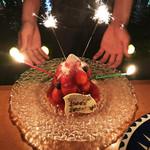ブルー - 【ケーキ】大人気!ストロベリータワーケーキ