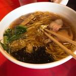 麺将 清正 - 醤油ラーメン