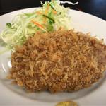 キッチン・ヒイラギ - 料理写真:メンチカツ 870円。