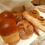 銀座 レカン - レカングループで焼いたパン