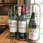 窯焼きビストロ 博多 NUKU NUKU - シェフのセレクトしたワインを多数そろえています