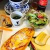 Suteji - 料理写真:コーヒー¥400(バケットフレンチトーストモーニング)ハロウィン用お菓子オマケ付き