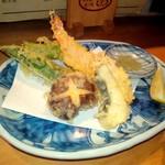 遊 - 天ぷら盛り合わせ♪♬