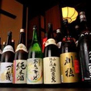 純米酒~大吟醸まで20種以上!