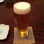 73595504 - 小判寿司 まずはビール