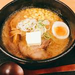 麺や 雅 - 焼き味噌バターコーンラーメン