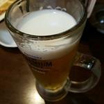 新世界 串カツ いっとく - 生ビール