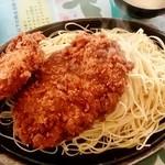 パンプキン - パンプキン@前橋 ビジネスランチのメンチかつと肉じゃがコロッケ