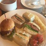 ガーデンラウンジ - サンドイッチ色々