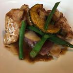 Restaurant27 - 富士幻豚のもも肉のロースト キノコのソース