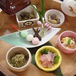 料理旅館 枕川楼 - 前菜