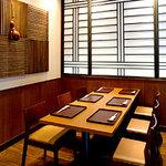 天ぷら ひさご - テーブル個室もございます