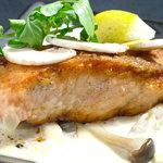 産地直送 お魚とお野菜 海畑 - サーモンきのこクリーム