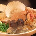 産地直送 お魚とお野菜 海畑 - 海鮮鍋コース