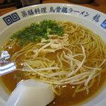 烏骨鶏ラーメン 龍 - 烏骨鶏らーめん(味噌)