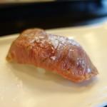 すし処魚楽 - 料理写真:松阪牛炙り