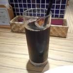 パンケーキ&スイーツ ブラザーズカフェ - アイスコーヒー