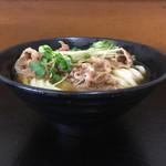 うどんの田 - 黒い丼はcタイプ