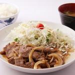 味はらプチ食堂 - 焼き肉定食【味はら】