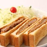 味はらプチ食堂 - ビフカツサンド【味はら】