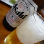暁園 - (2017/8月 夕食)瓶ビール