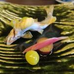 京料理 入舟 - 29年9月 こだわり朝定食 子持ち鮎の塩焼き