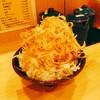 横浜ラーメン 北村家 - 料理写真:ねぎ丼 250円(税込) 葱は一本以上使っているらしく、大きめのご飯茶碗の上に、測ったら、9㎝盛られていましたよ。