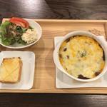 ゆずはな - チーズドリアです。850円 チーズとミートソースの相性がよくとても美味しかったです。