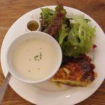 ポワンタージュ - スープ&キッシュランチ